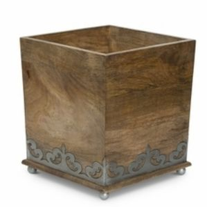 Brown GG Waste Basket
